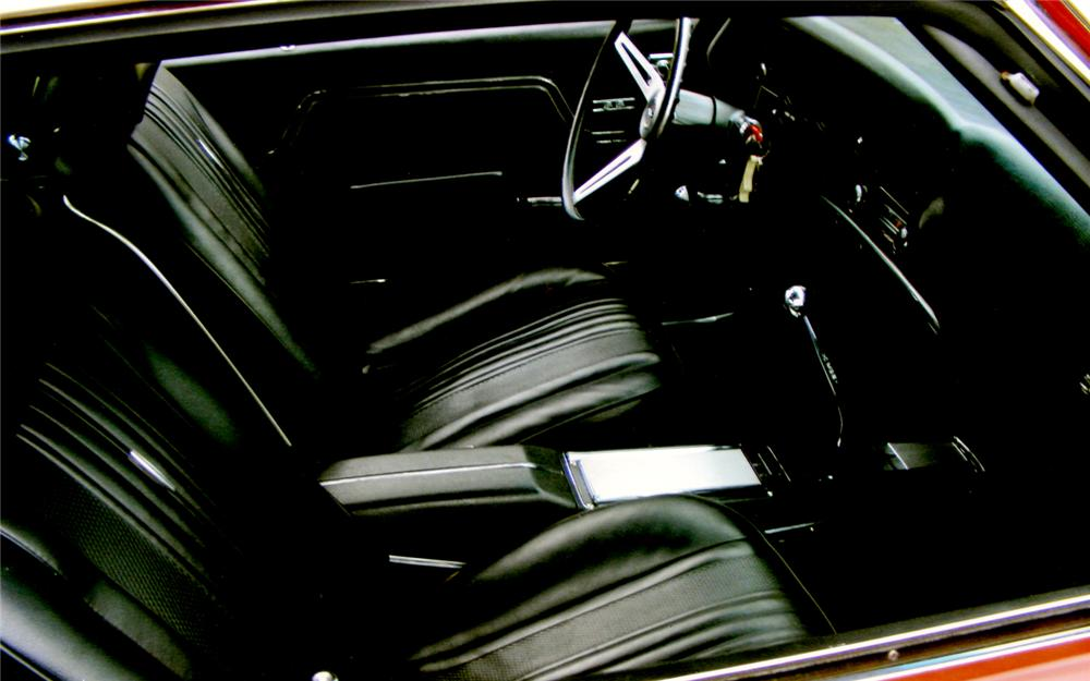 1970 CHEVROLET CHEVELLE SS LS5 COUPE - Interior - 66463