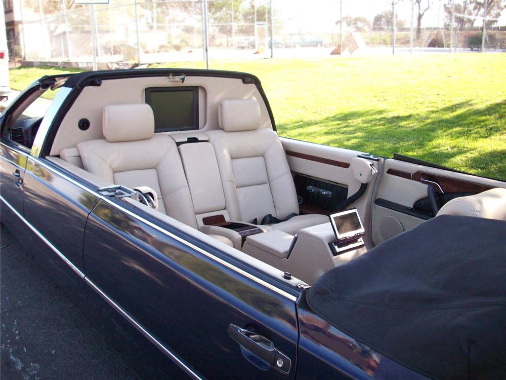 1995 MERCEDES-BENZ 500S CUSTOM CONVERTIBLE LIMOUSINE - Interior - 66467
