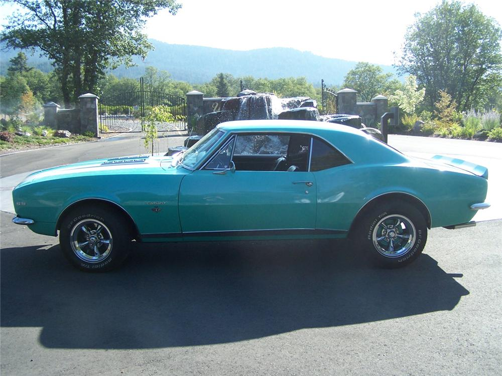 1967 CHEVROLET CAMARO RS/SS 2 DOOR COUPE - Front 3/4 - 66493