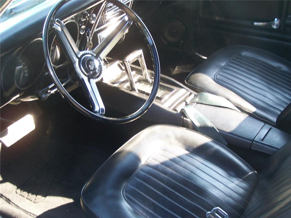 1967 CHEVROLET CAMARO RS/SS 2 DOOR COUPE - Interior - 66493