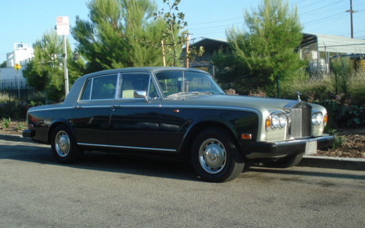 1978 ROLLS-ROYCE SILVER SHADOW II 4 DOOR SEDAN - Front 3/4 - 66494