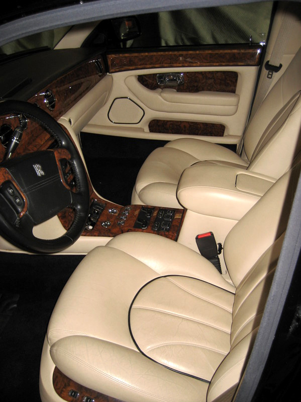 2000 ROLLS-ROYCE SILVER SERAPH 4 DOOR SEDAN - Interior - 66495