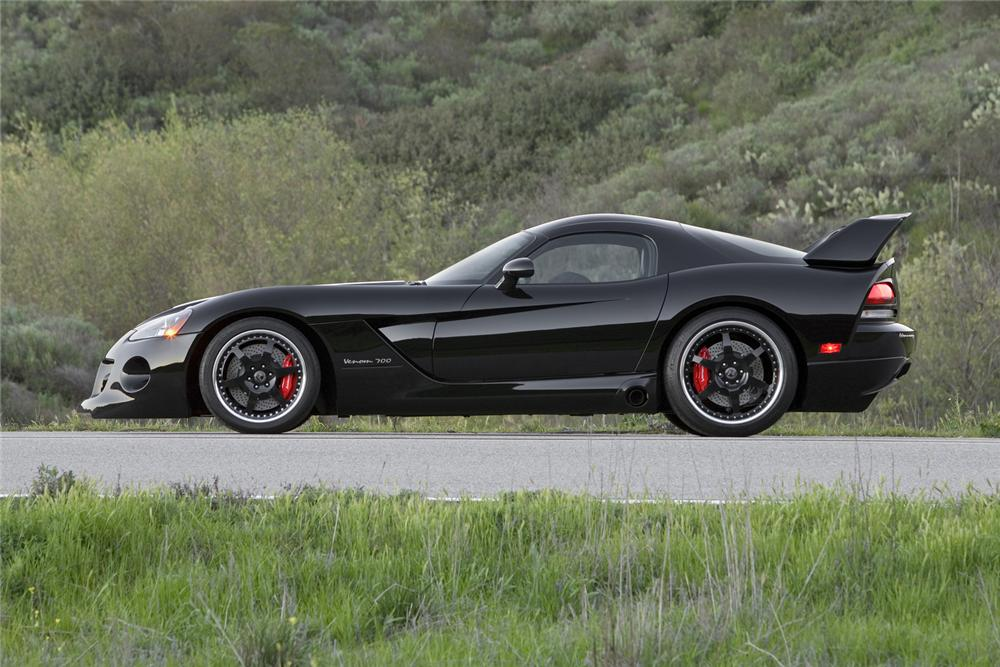 2008 DODGE VIPER HENNESSEY VENOM 700NM COUPE - Side Profile - 66496