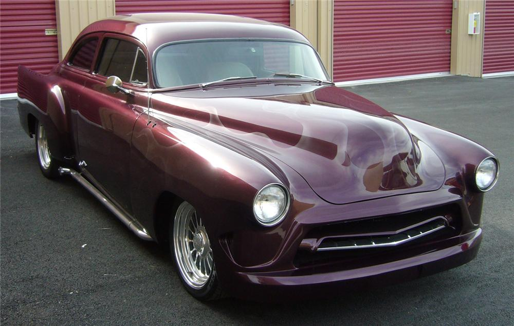 1952 CHEVROLET CUSTOM COUPE - Front 3/4 - 66510