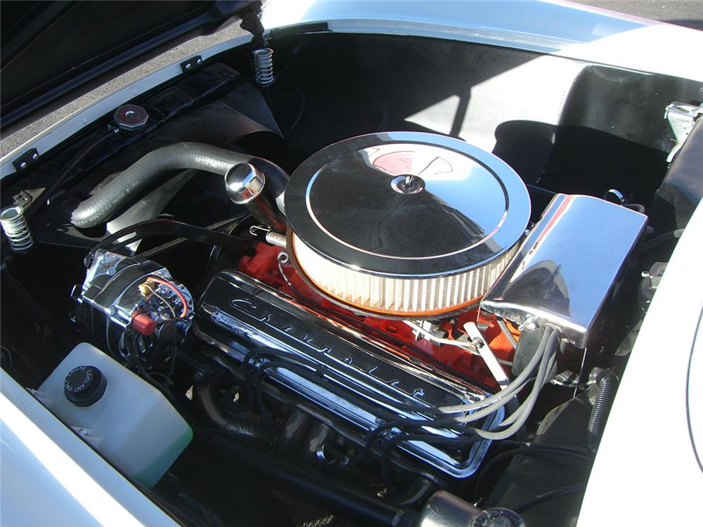 1954 CHEVROLET CORVETTE CUSTOM CONVERTIBLE - Engine - 66516