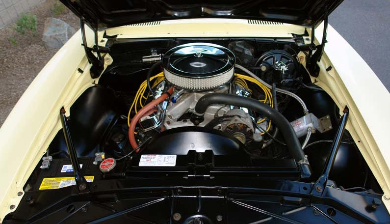 1968 PONTIAC FIREBIRD CONVERTIBLE - Engine - 66610
