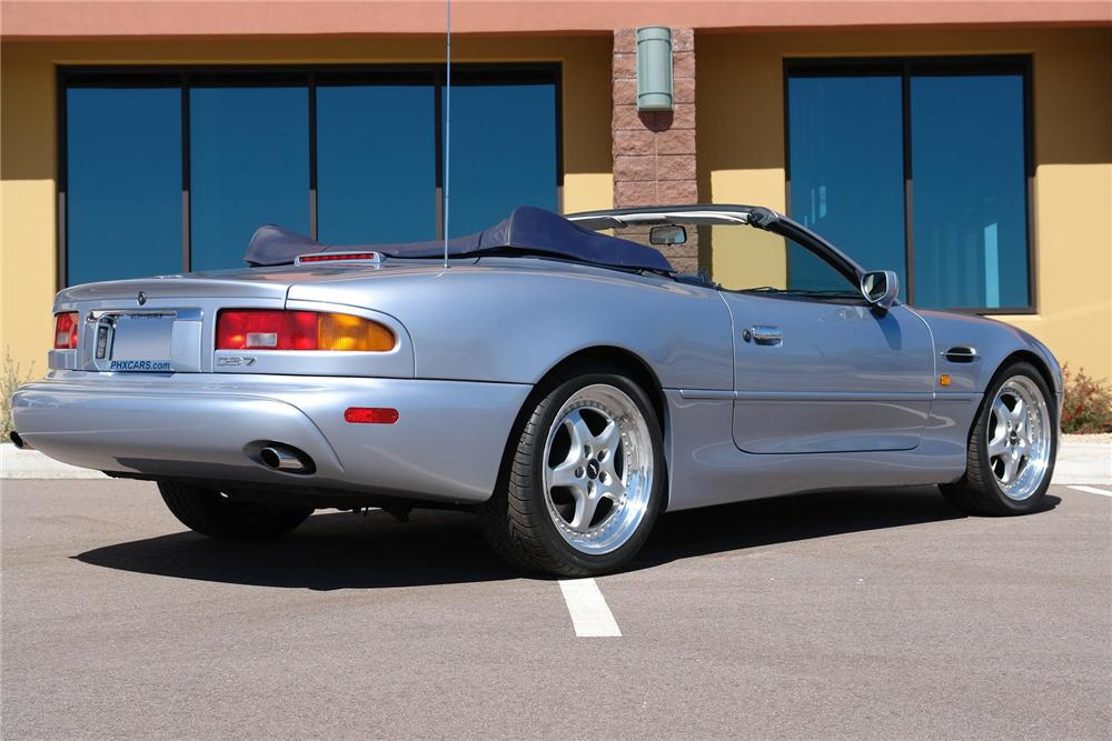 1997 ASTON MARTIN DB 7 CONVERTIBLE - Rear 3/4 - 66613
