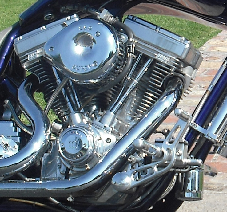 2004 BOURGET CUSTOM CHOPPER - Engine - 66658