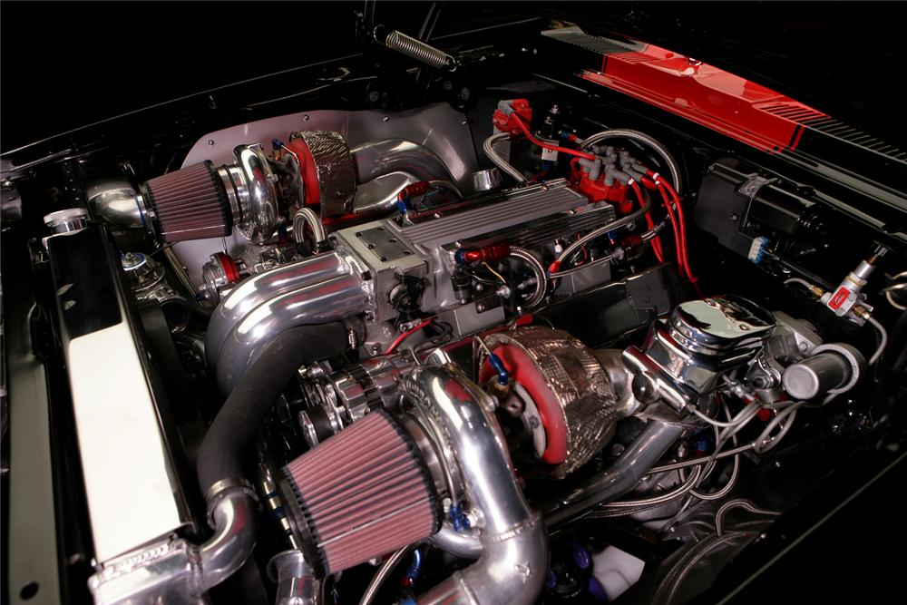 1969 CHEVROLET CAMARO CUSTOM COUPE - Engine - 70560