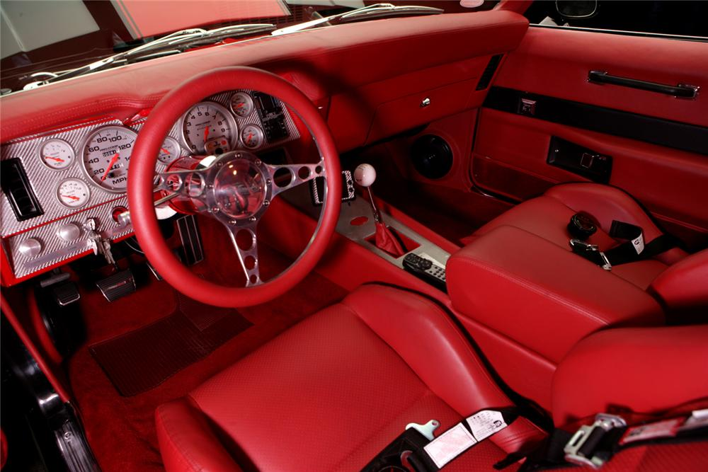 1969 CHEVROLET CAMARO CUSTOM COUPE - Interior - 70560