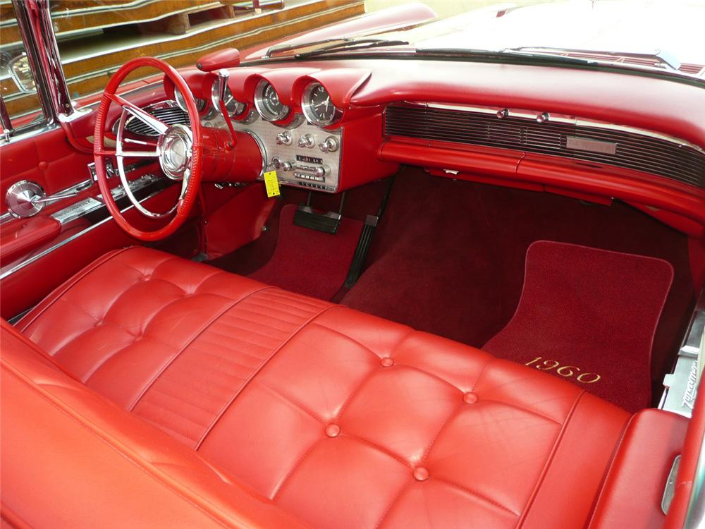 1960 LINCOLN CONTINENTAL MARK V CONVERTIBLE - Interior - 70564