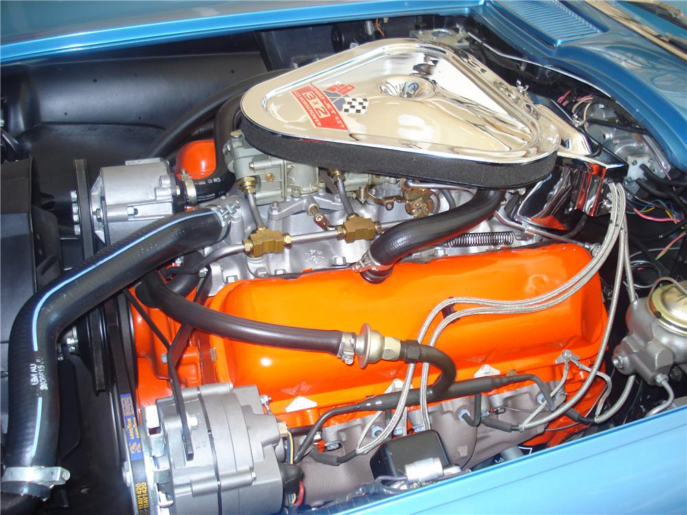1967 CHEVROLET CORVETTE COUPE - Engine - 70565