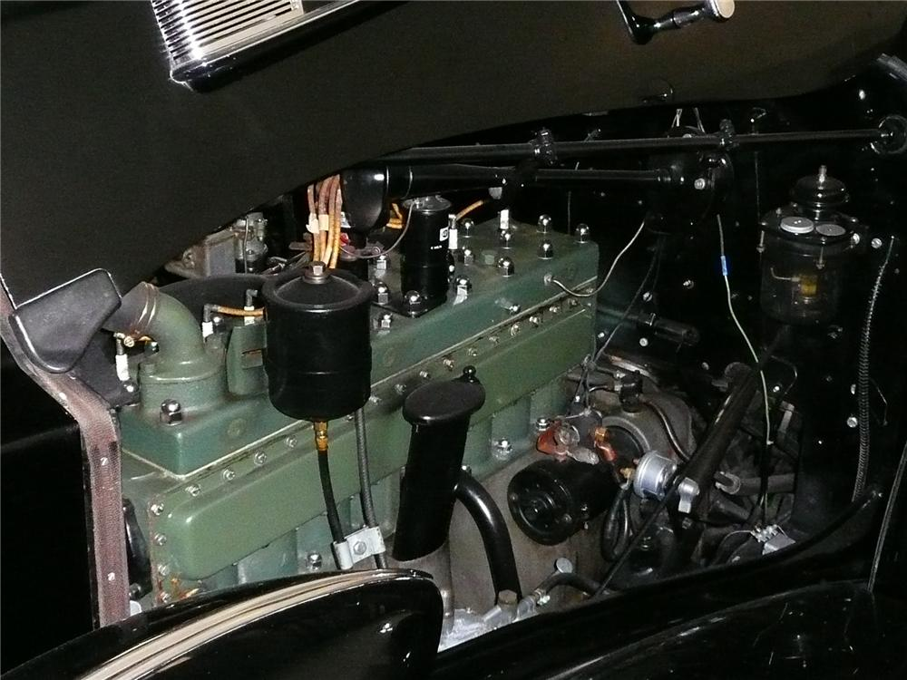 1935 PACKARD DIETRICH VICTORIA CONVERTIBLE - Engine - 70567