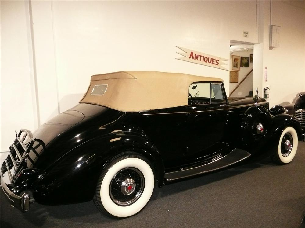 1935 PACKARD DIETRICH VICTORIA CONVERTIBLE - Rear 3/4 - 70567