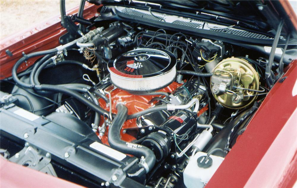1969 CHEVROLET CHEVELLE SS 396 CONVERTIBLE - Engine - 70569