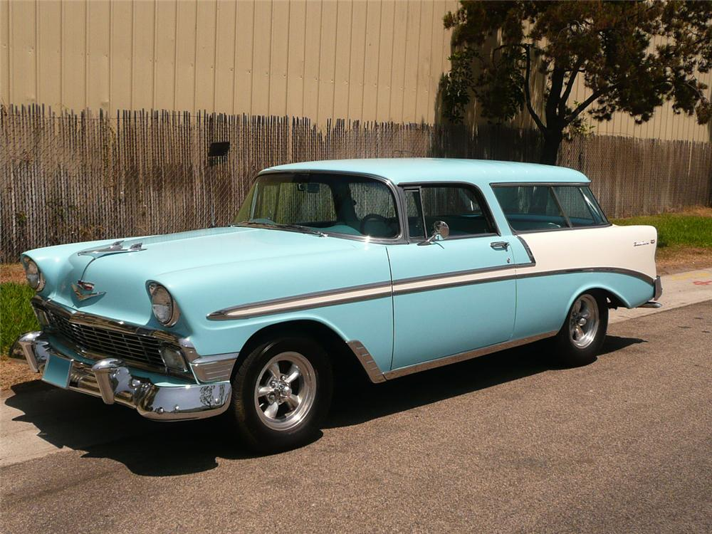 "1956 CHEVROLET NOMAD STATION WAGON ""EDDIE VAN HALENS"" - Side Profile - 70571"