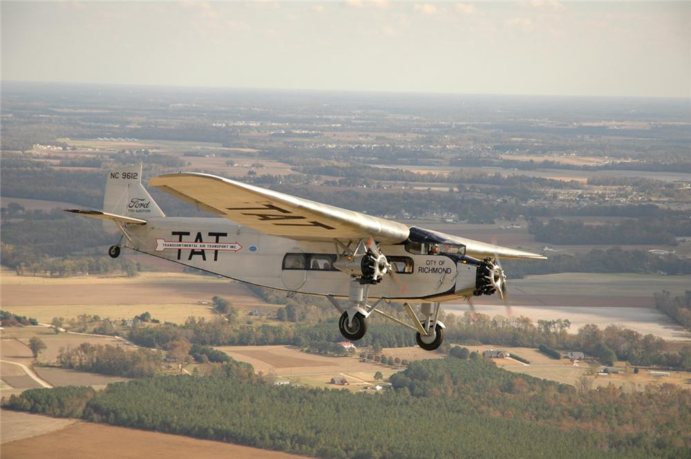 1929 FORD 4-AT-E TRI-MOTOR AIRPLANE - Front 3/4 ...