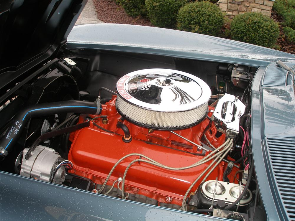 1967 CHEVROLET CORVETTE COUPE - Engine - 70610