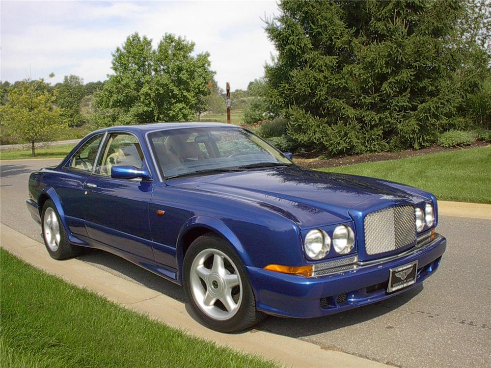 1998 BENTLEY CONTINENTAL T 2 DOOR HARDTOP - Front 3/4 - 70625