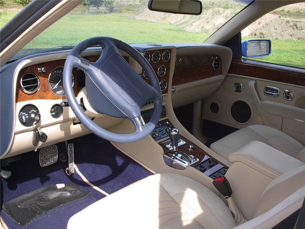 1998 BENTLEY CONTINENTAL T 2 DOOR HARDTOP - Interior - 70625