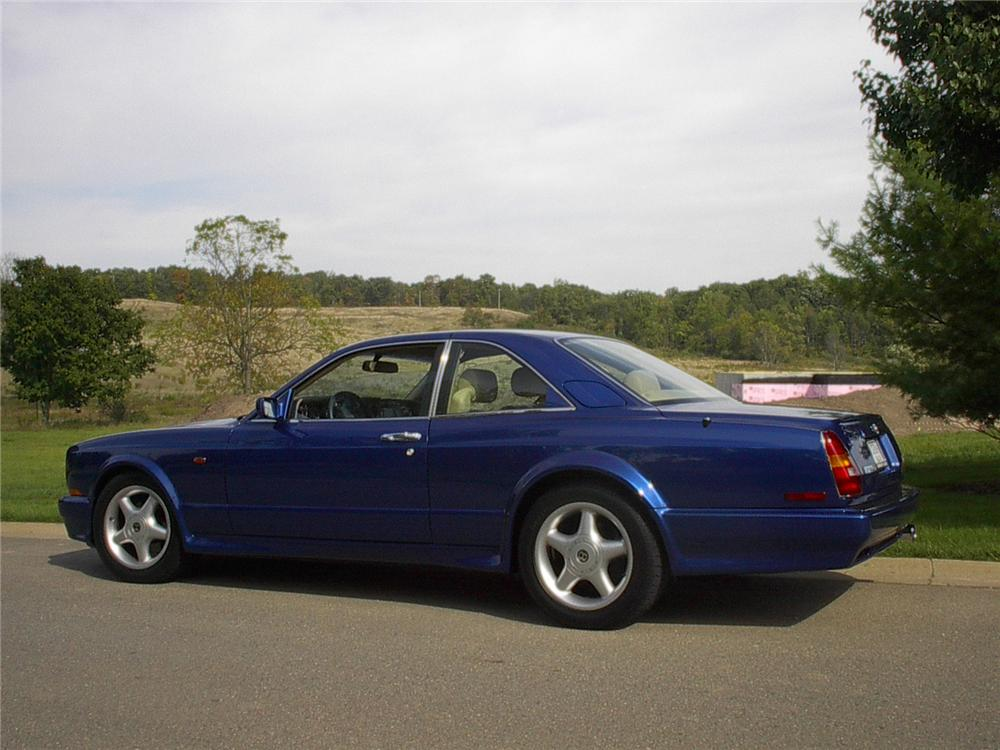 1998 BENTLEY CONTINENTAL T 2 DOOR HARDTOP - Side Profile - 70625
