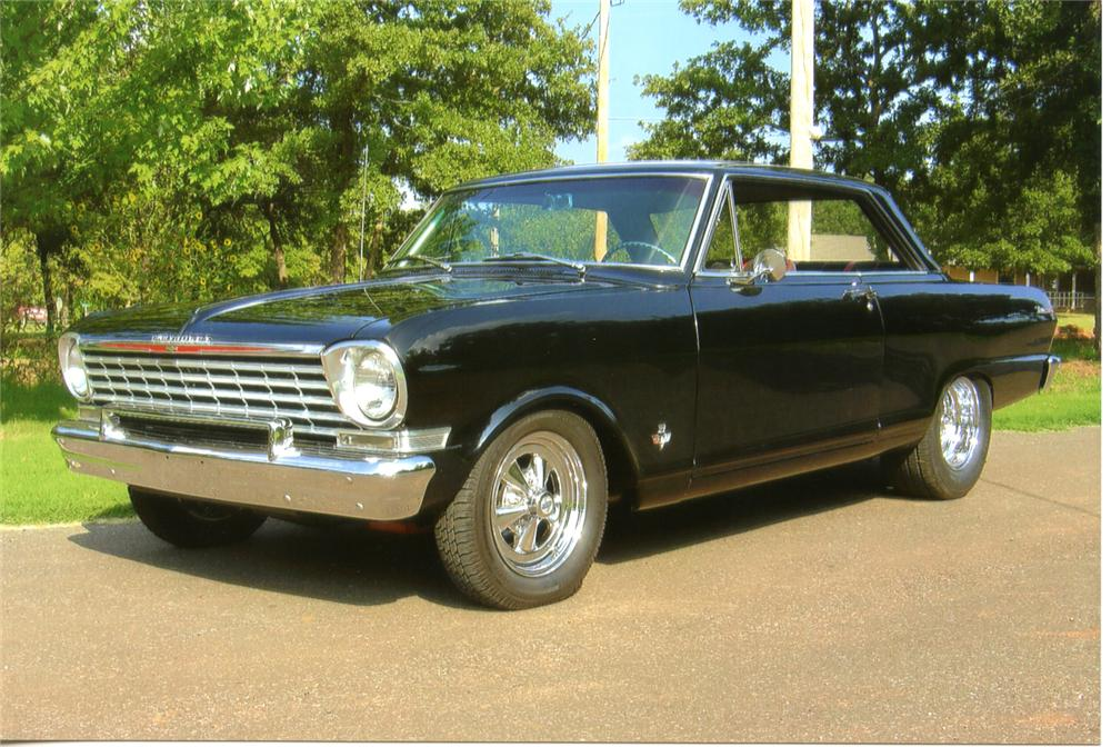 1962 CHEVROLET CHEVY II NOVA CUSTOM 2 DOOR COUPE - Front 3/4 - 70629