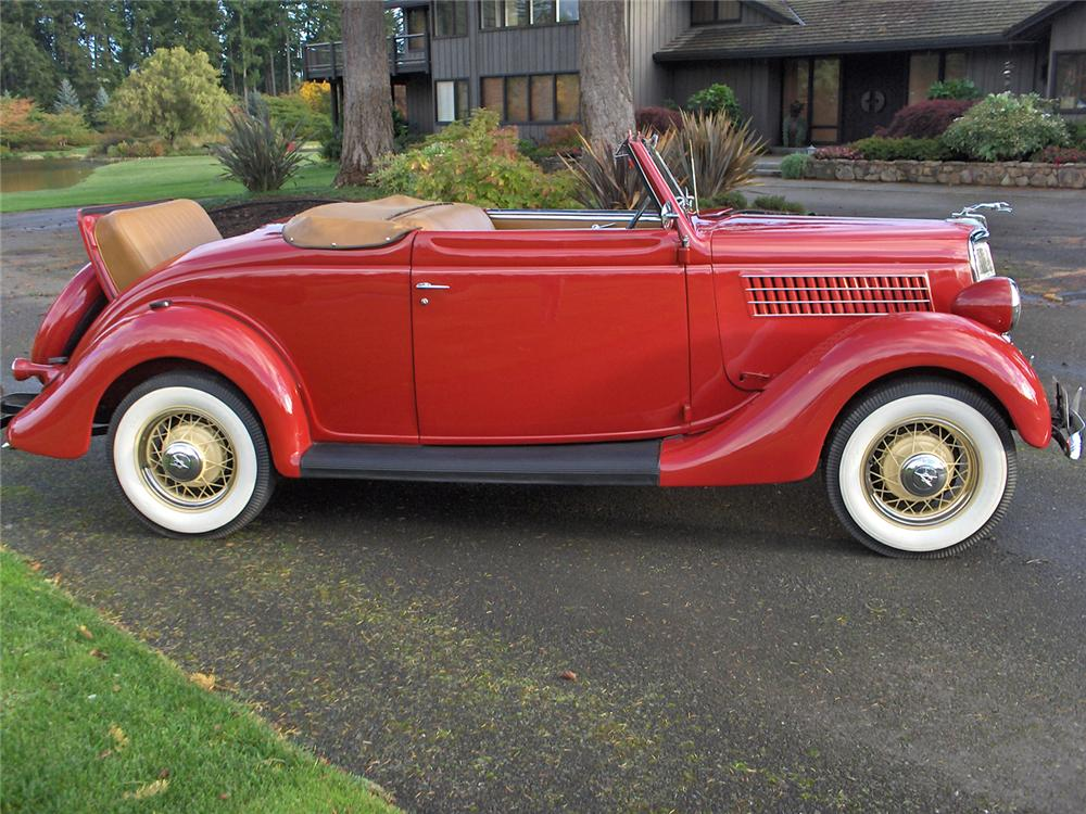 1935 FORD RUMBLE SEAT ROADSTER