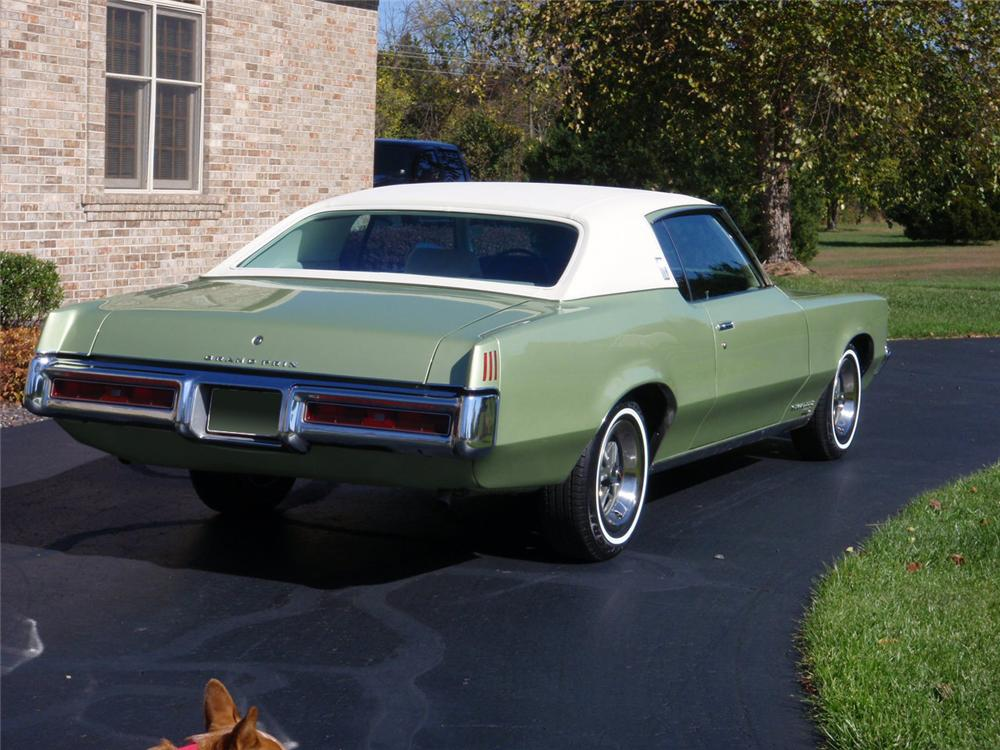 Grand Prix Las Vegas >> 1969 PONTIAC GRAND PRIX 2 DOOR COUPE - 70639