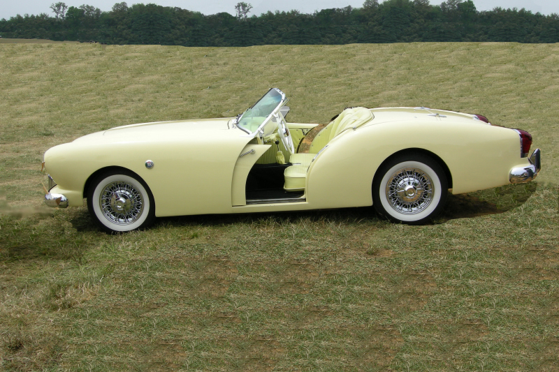 1954 KAISER DARRIN ROADSTER - Side Profile - 70641