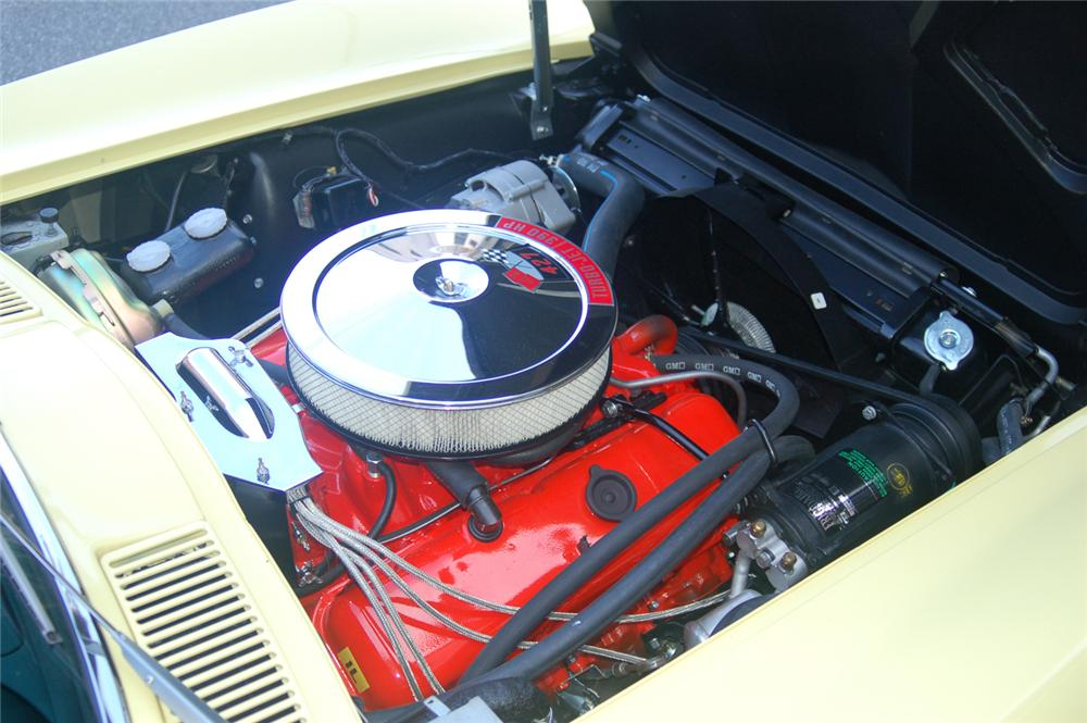 1966 CHEVROLET CORVETTE COUPE - Engine - 70646