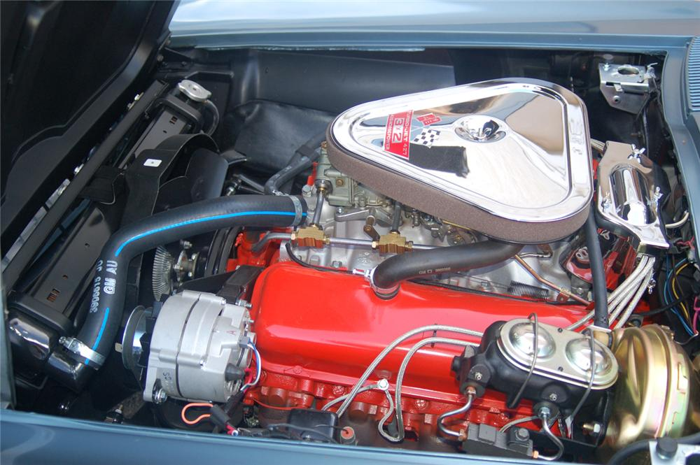 1967 CHEVROLET CORVETTE CONVERTIBLE - Engine - 70648