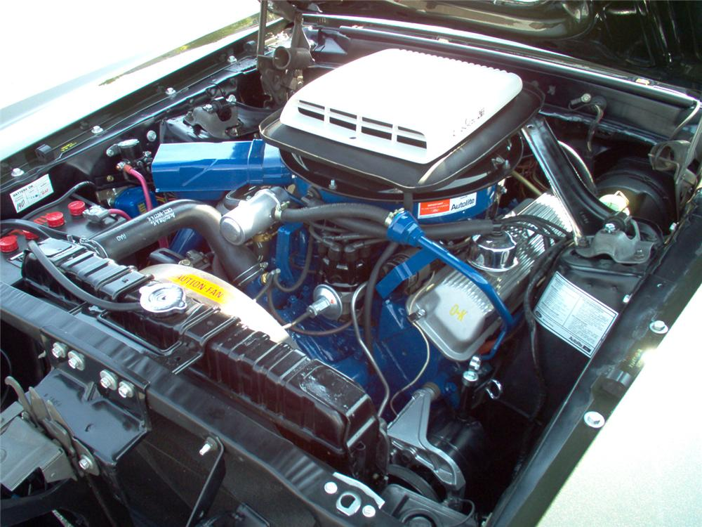 "1970 FORD MUSTANG 428 CJ ""R"" FASTBACK - Engine - 70661"