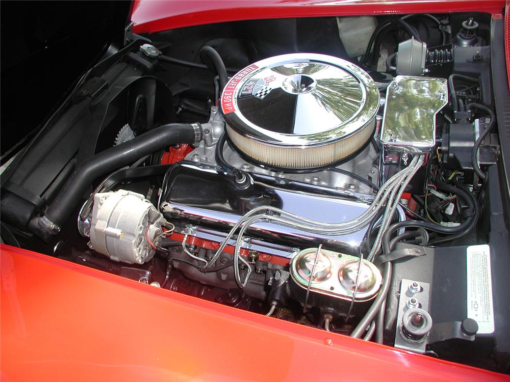1968 CHEVROLET CORVETTE CONVERTIBLE - Engine - 70665