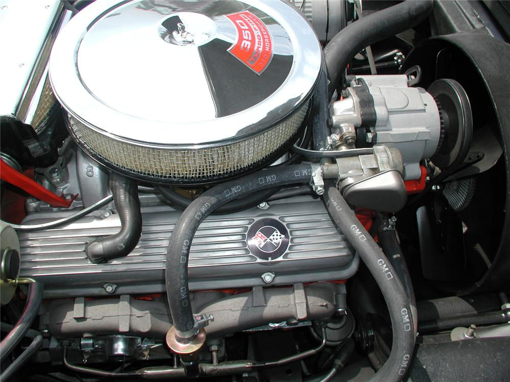 1971 CHEVROLET CORVETTE COUPE - Engine - 70666