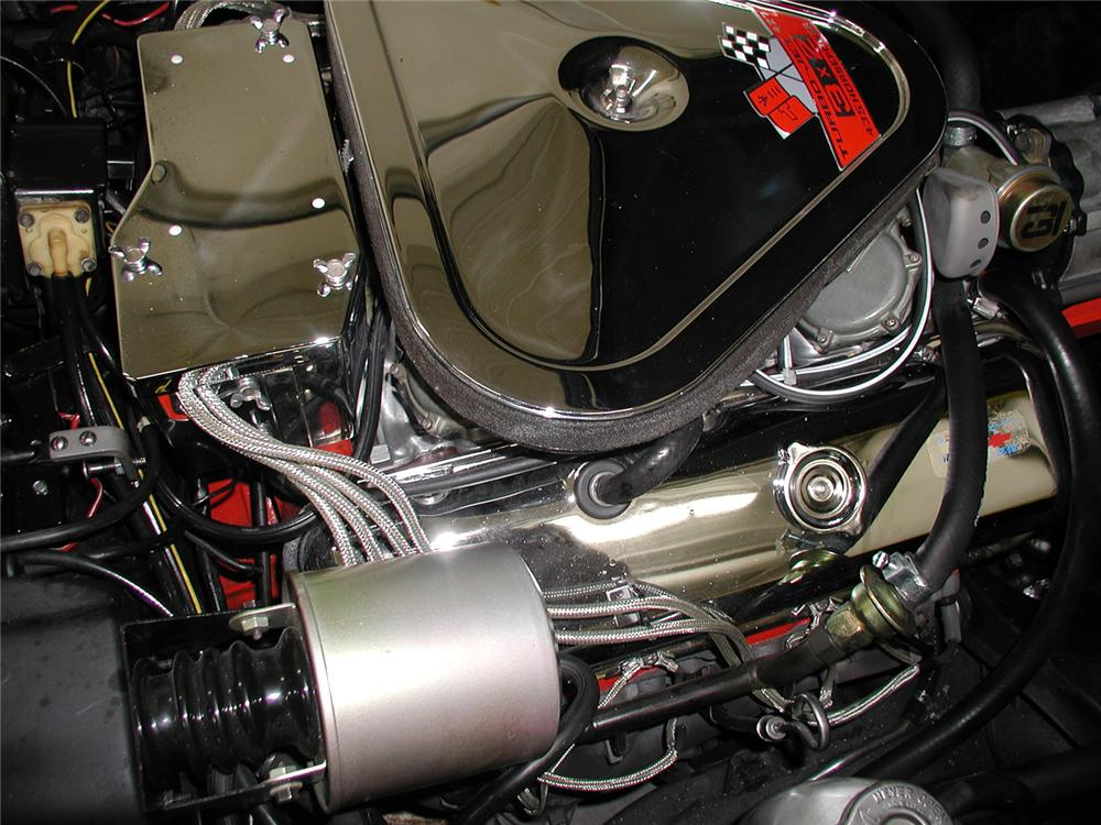 1969 CHEVROLET CORVETTE CONVERTIBLE - Engine - 70667