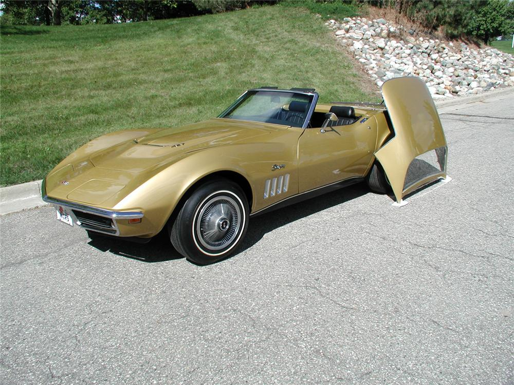 1969 CHEVROLET CORVETTE CONVERTIBLE - Interior - 70667