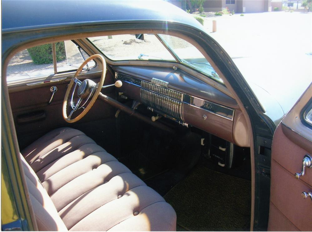 1940 CADILLAC SERIES 62 SEDAN - Interior - 70673