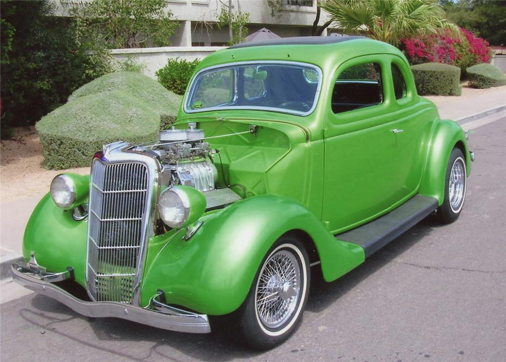 1935 ford 5 window custom coupe 70675 for 1935 ford three window coupe