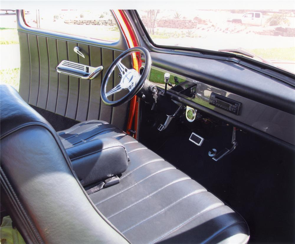 1948 FORD MODEL 48 CUSTOM COUPE - Interior - 70677