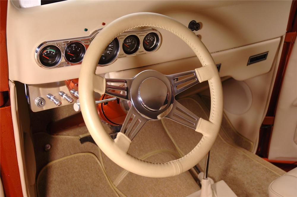 1936 FORD CUSTOM CABRIOLET - Interior - 70681