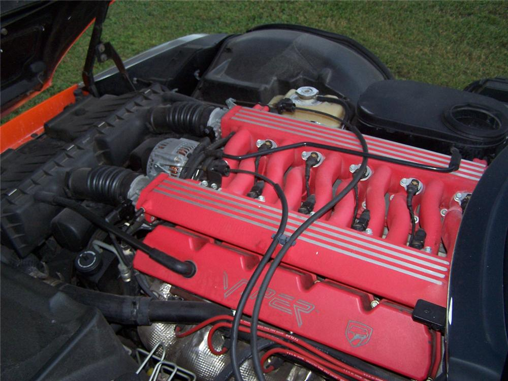 1994 DODGE VIPER RT/10 CUSTOM CONVERTIBLE - Engine - 70689