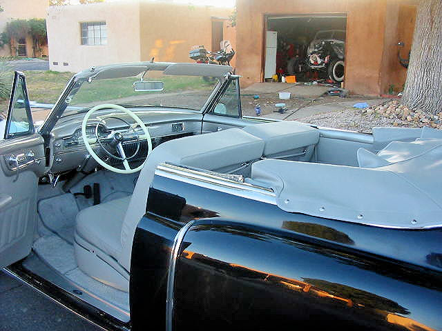 1950 CADILLAC SERIES 62 CONVERTIBLE - Interior - 70692