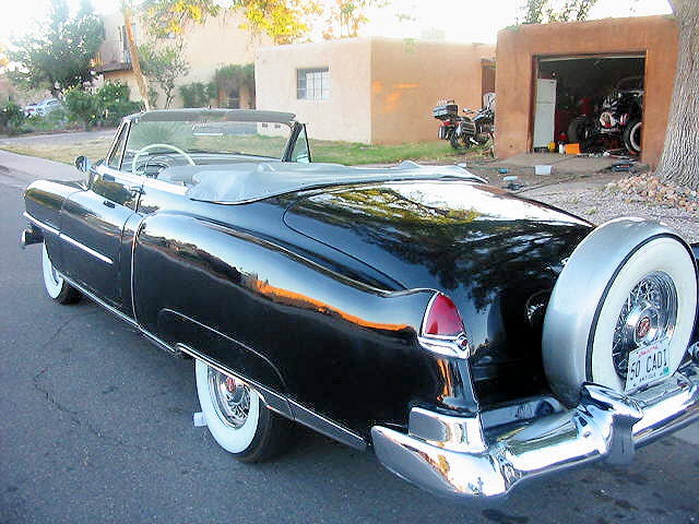 1950 CADILLAC SERIES 62 CONVERTIBLE - Rear 3/4 - 70692