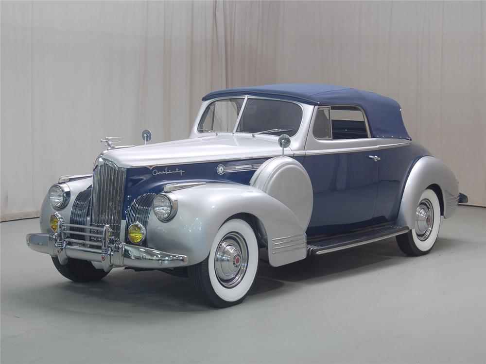 1941 PACKARD 2 DOOR CONVERTIBLE - Side Profile - 70697