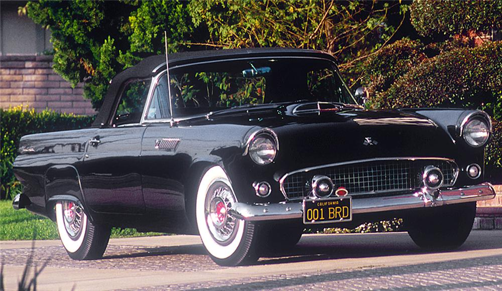 1955 FORD THUNDERBIRD CONVERTIBLE \'PRODUCTION #1\'70699