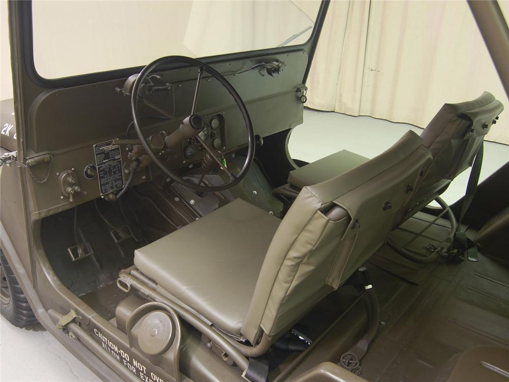1966 FORD M151 MILITARY JEEP - Interior - 70701