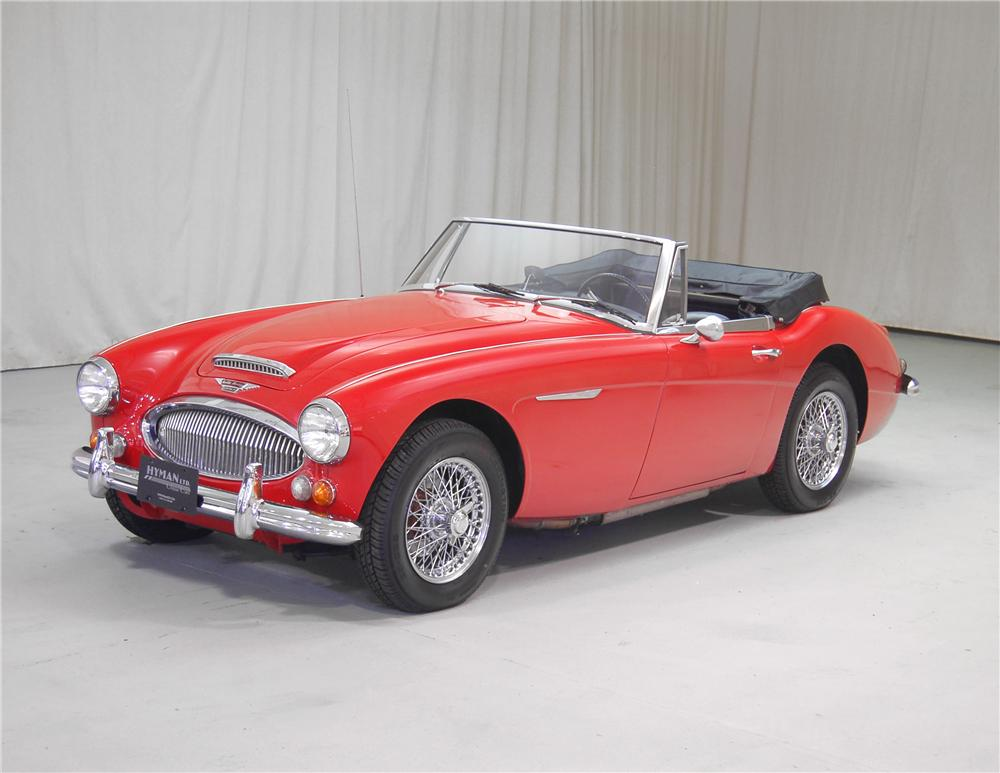 1967 AUSTIN-HEALEY 3000 MARK III BJ8 ROADSTER - Front 3/4 - 70703