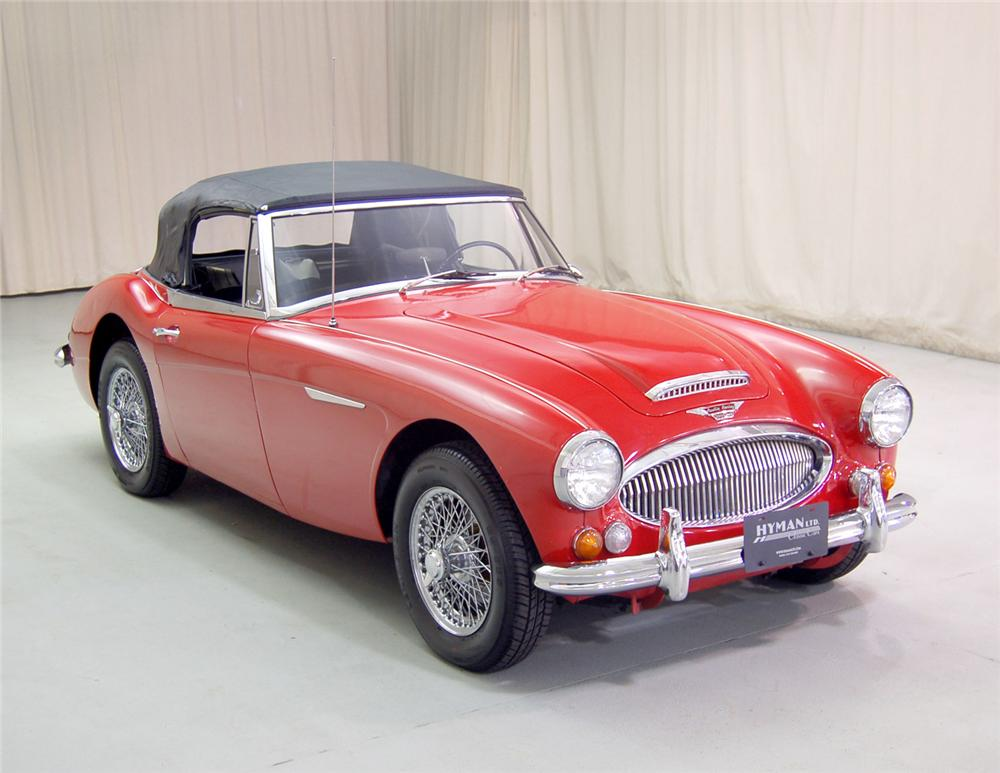 1967 AUSTIN-HEALEY 3000 MARK III BJ8 ROADSTER - Side Profile - 70703