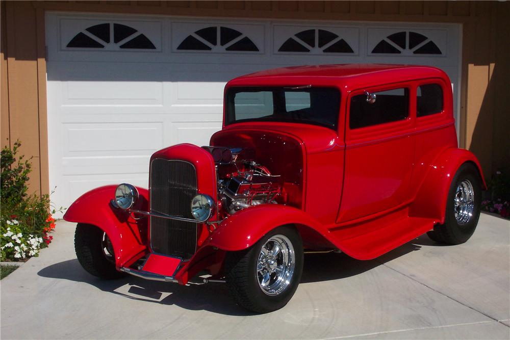 1932 ford victoria custom 2 door hardtop 70709 for 1932 ford four door