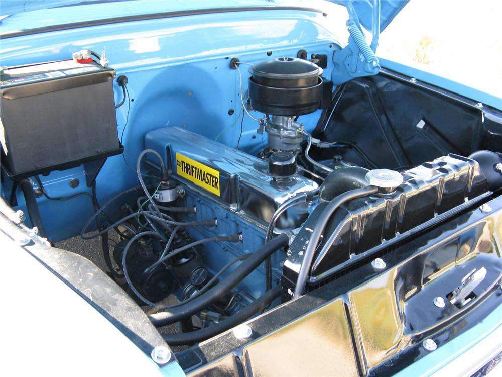 1957 CHEVROLET 3100 STEP-SIDE PICKUP - Engine - 70712